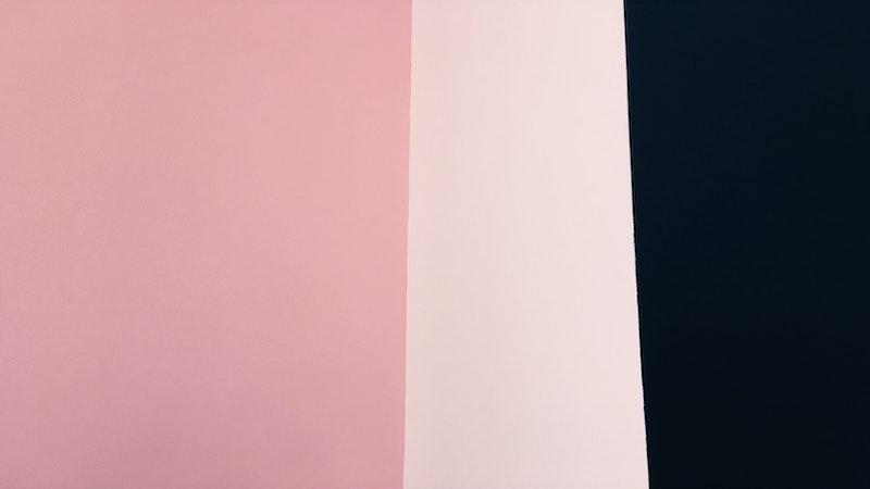 roze en zwart
