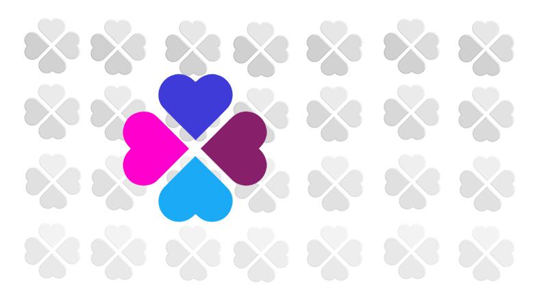 de kleuren uit het logo